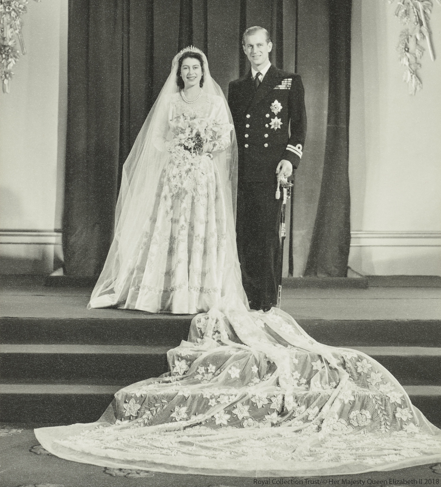 The Queen's Wedding Dress