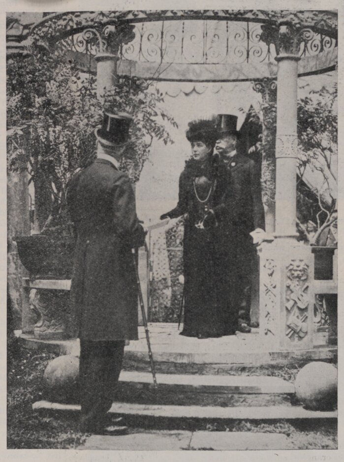 Queen Alexandra at the Chelsea Flower Show
