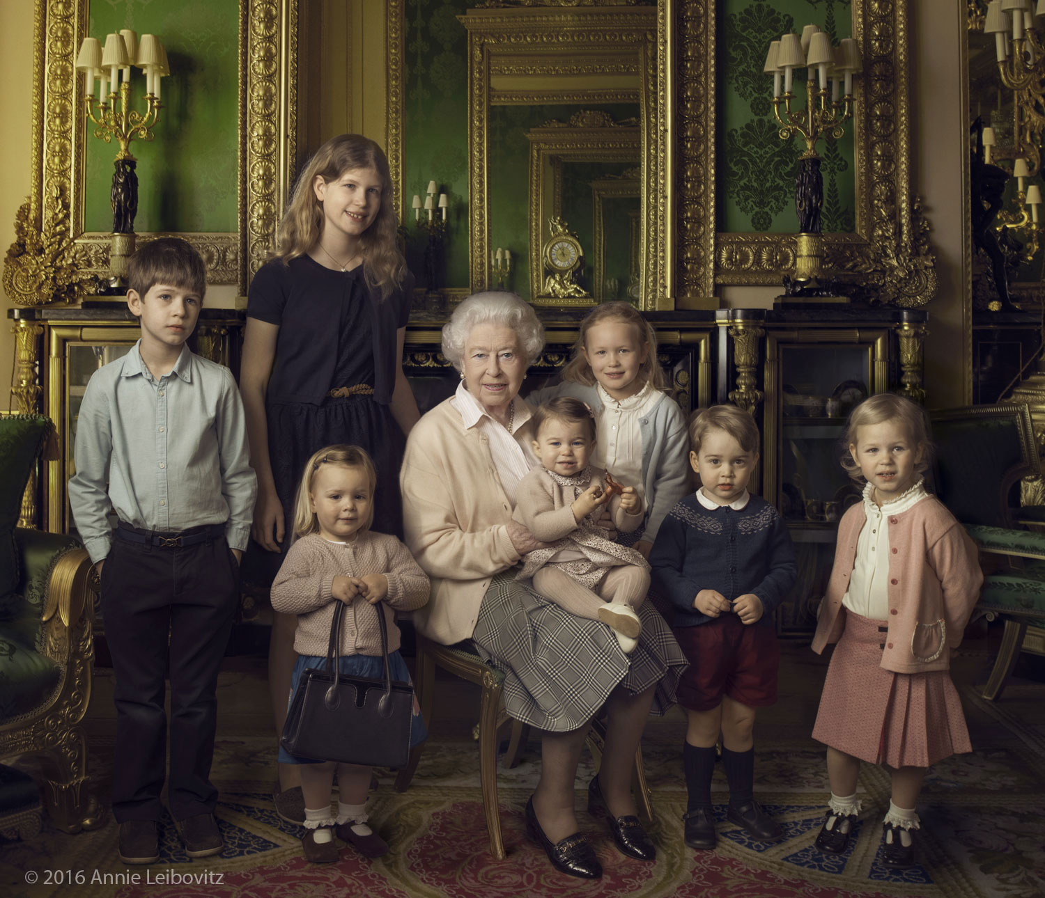 Official Photographs Released For The Queens 90th Birthday