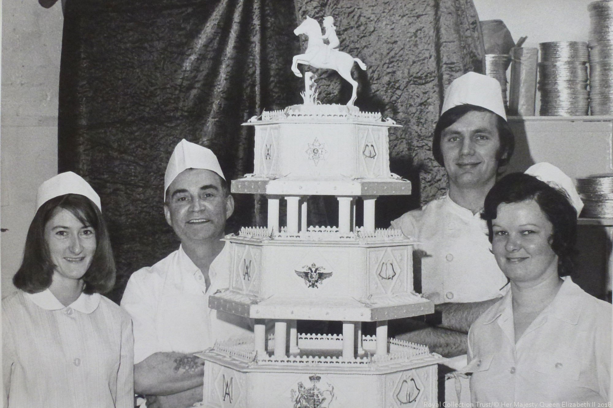 Princess Anne's Wedding Cake