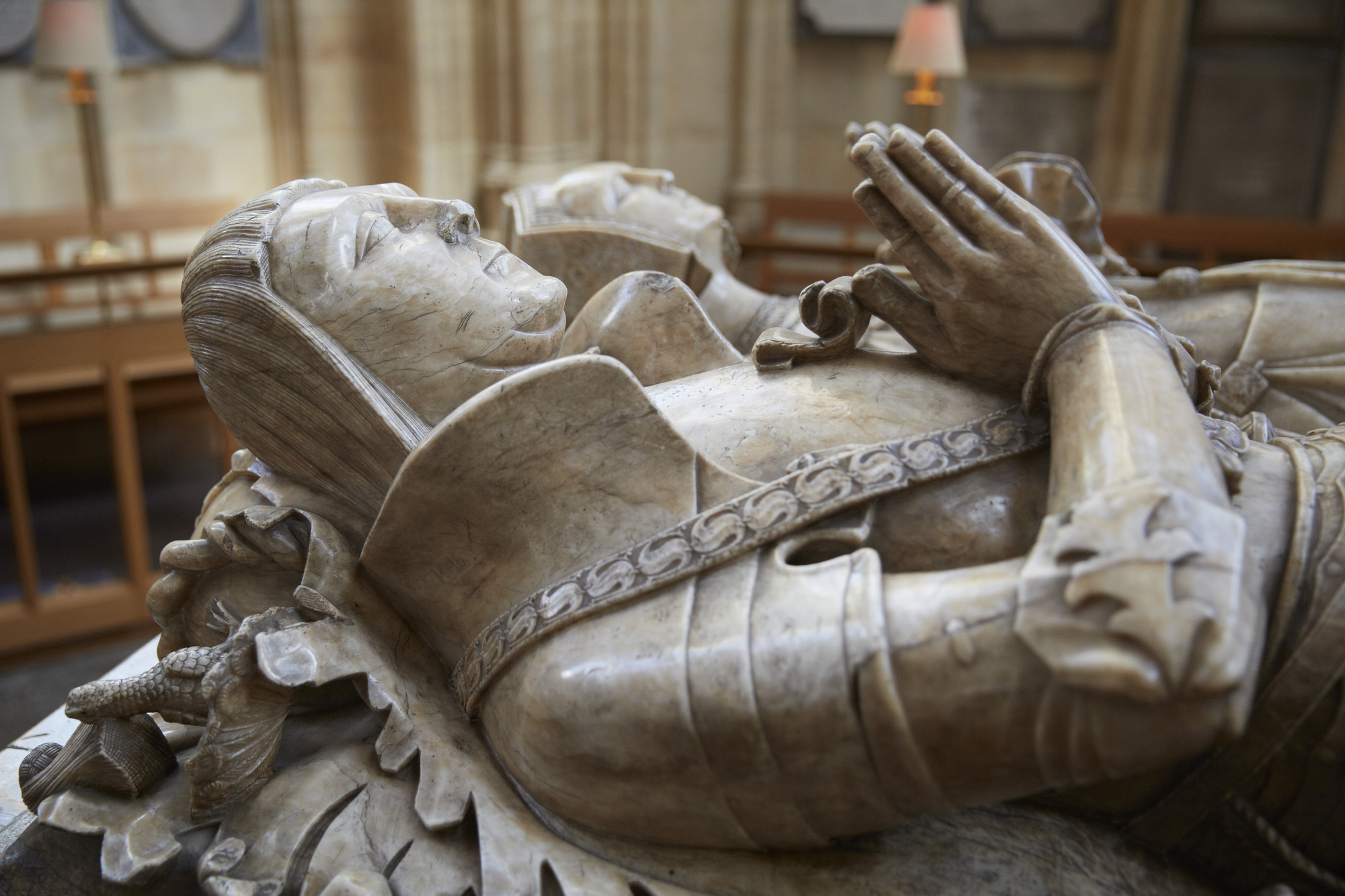 A tomb in the Rutland Chapel. Royal Collection Trust/© Her Majesty Queen Elizabeth II 2018