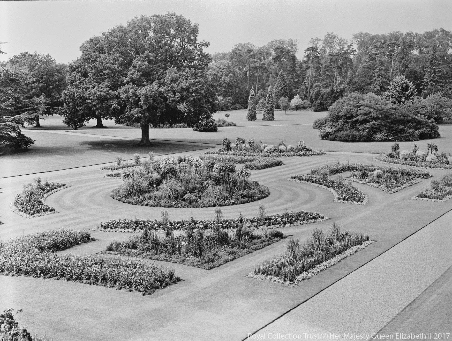 The gardens at Sandringham
