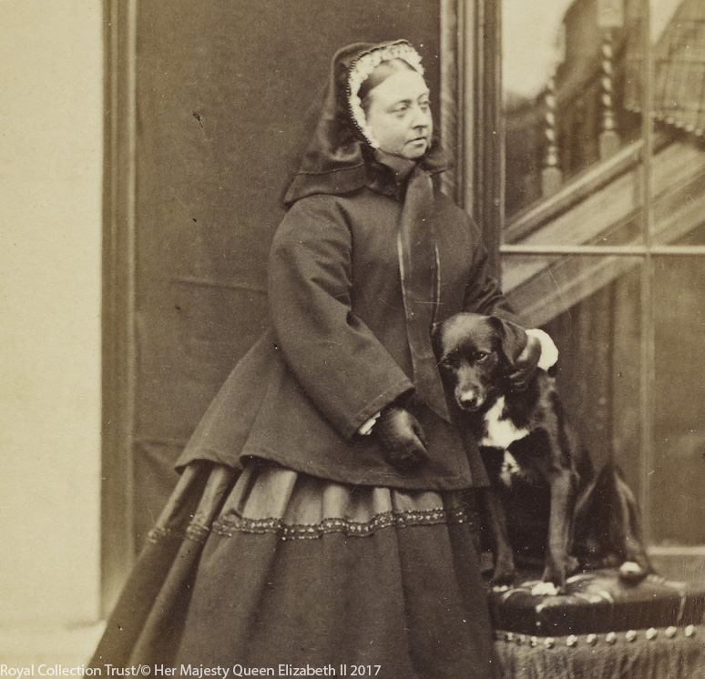 Queen Victoria with Sharp the collie