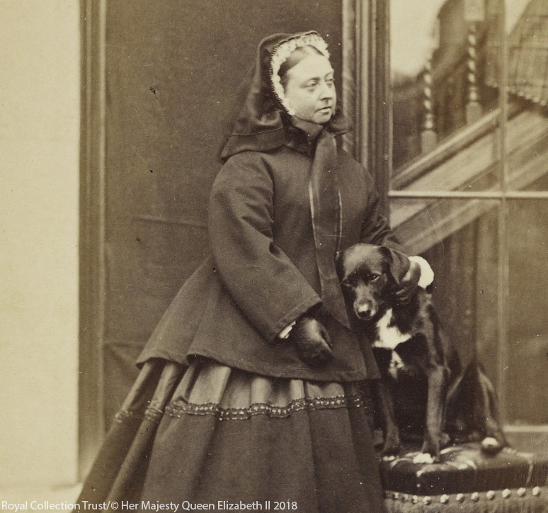 Queen Victoria with Sharp in 1866