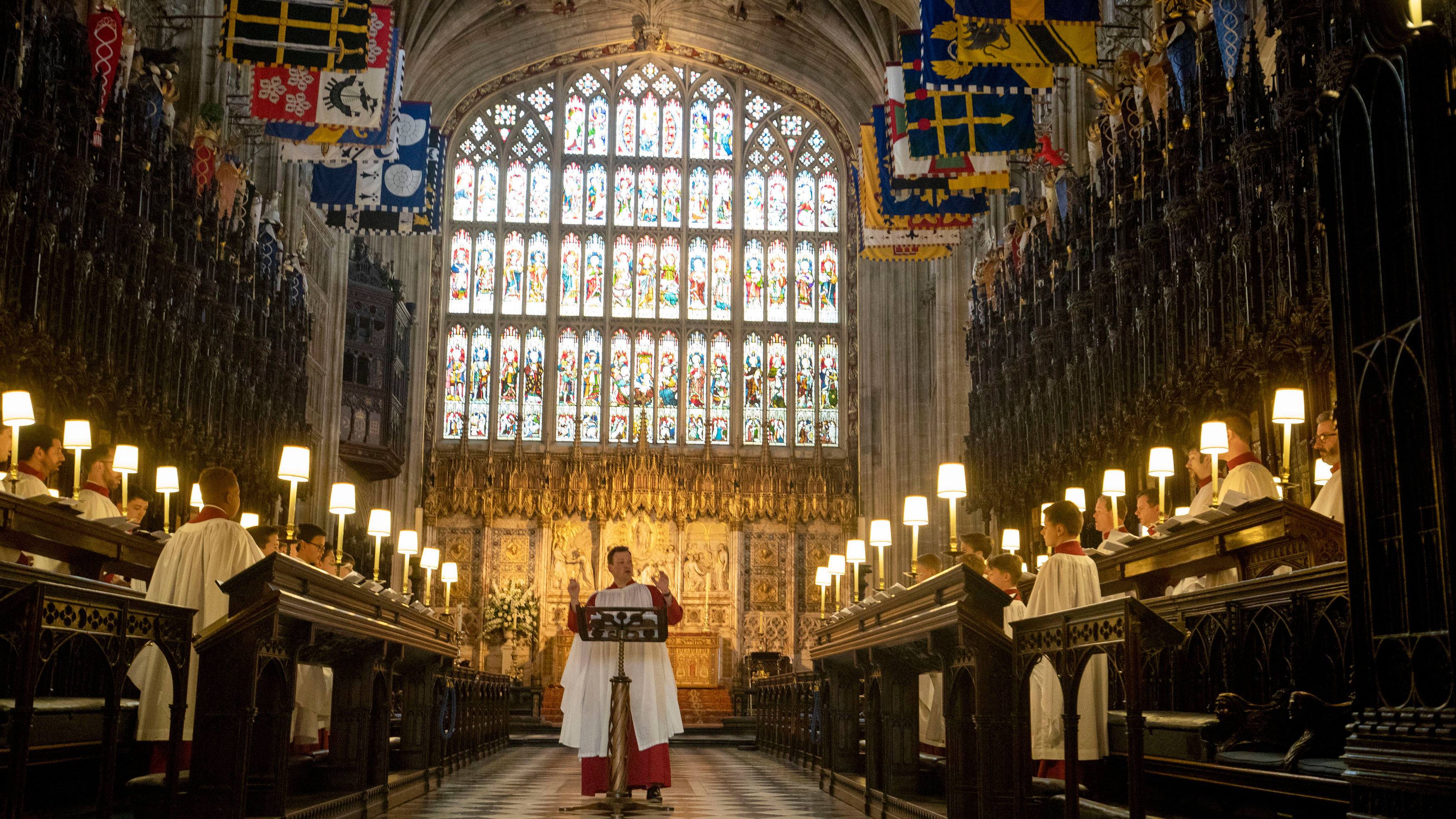 The Choir Of St Georges Chapel Windsor Castle Christmas 2020 St Georges Chapel Windsor Christmas Carols Guitar   Rnxqmm