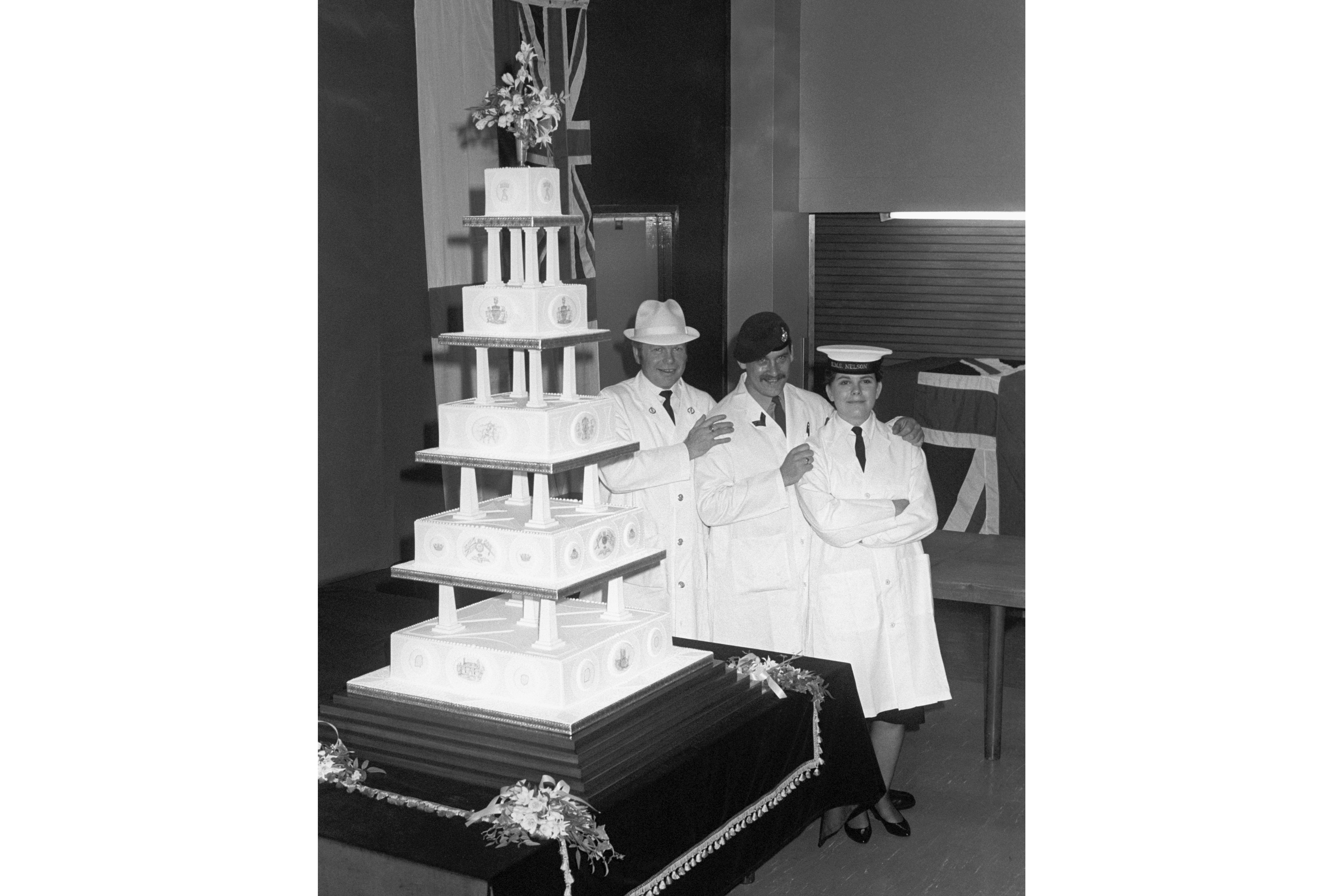 The Wedding Cake of The Duke and Duchess of York