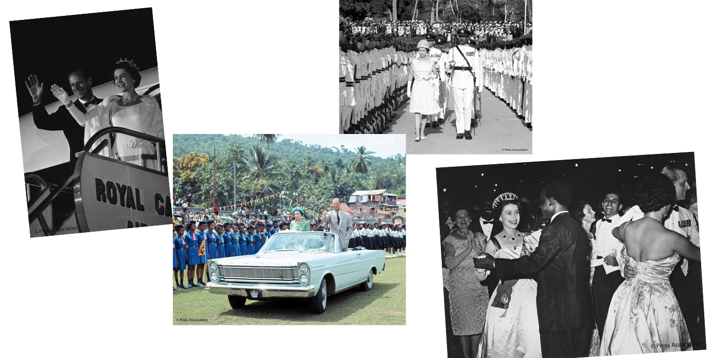 The Queen's visits to Commonwealth Countries in 1960s