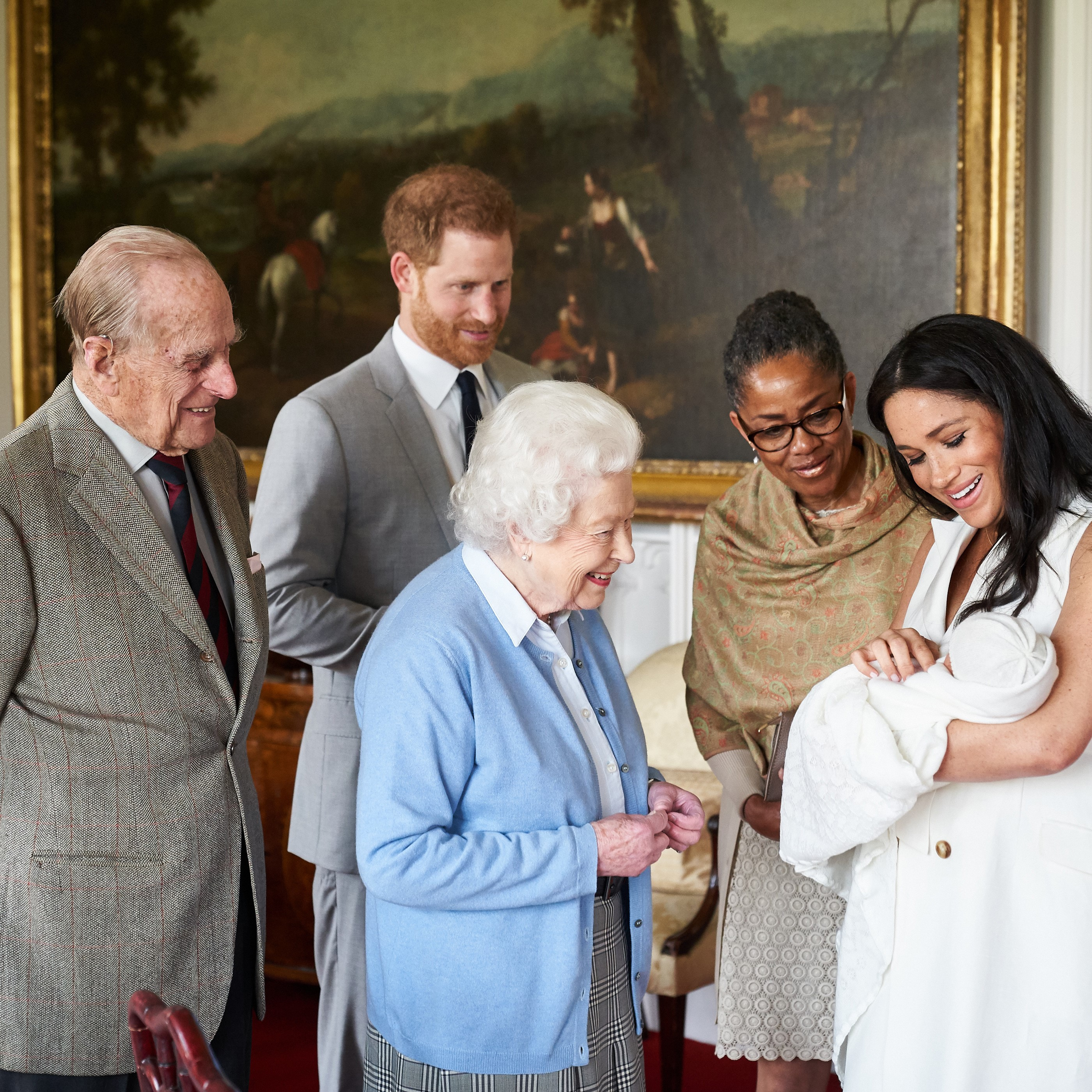 The Queen and Archie