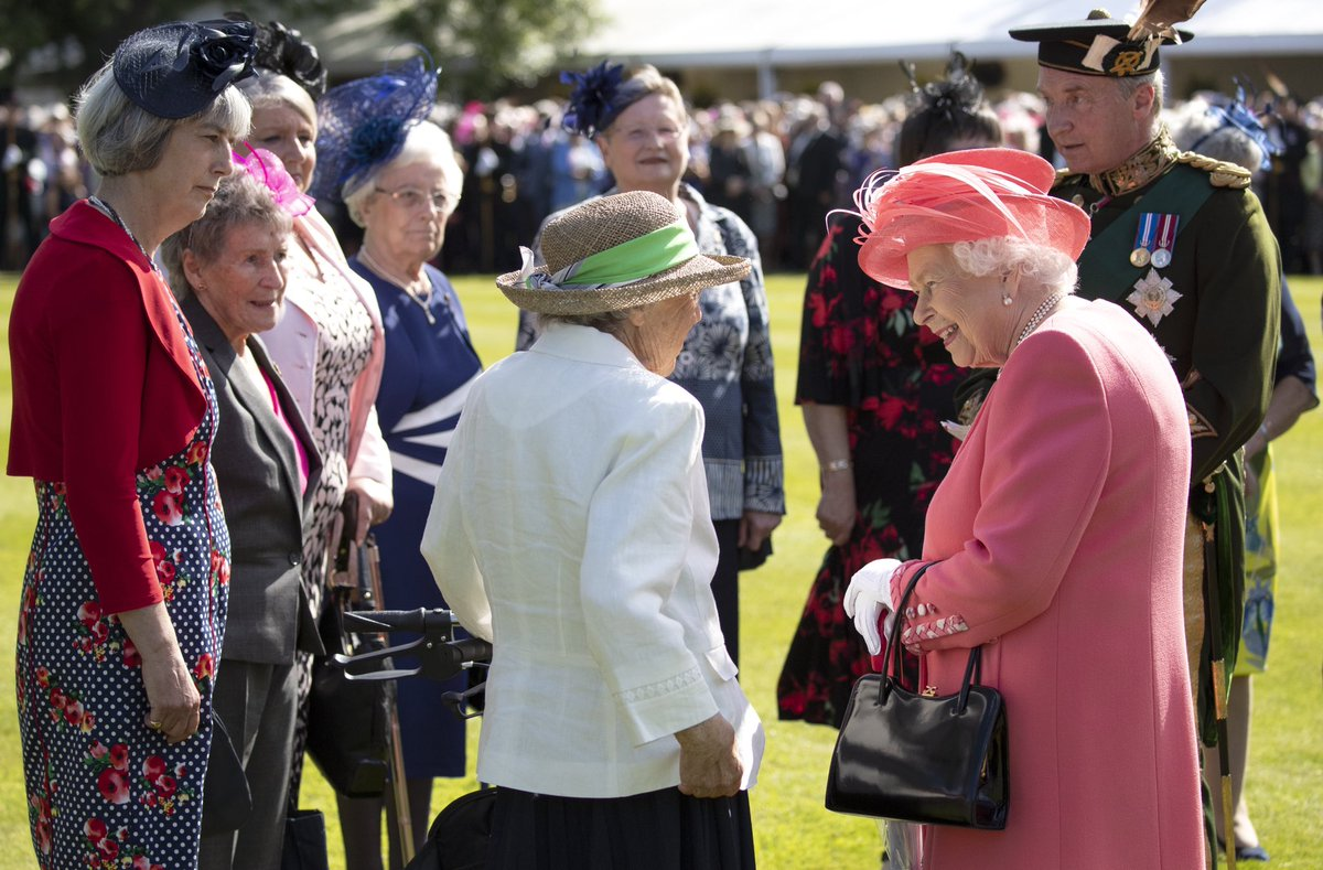 The Queen Garden Party