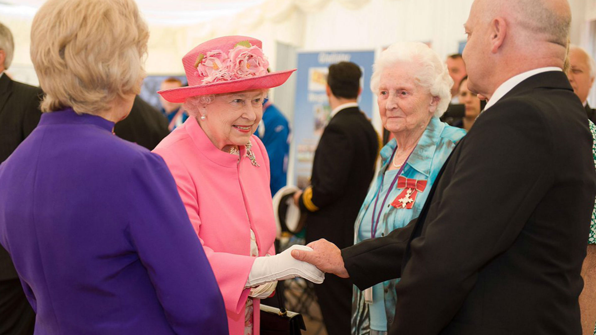 The Queen NCVO reception