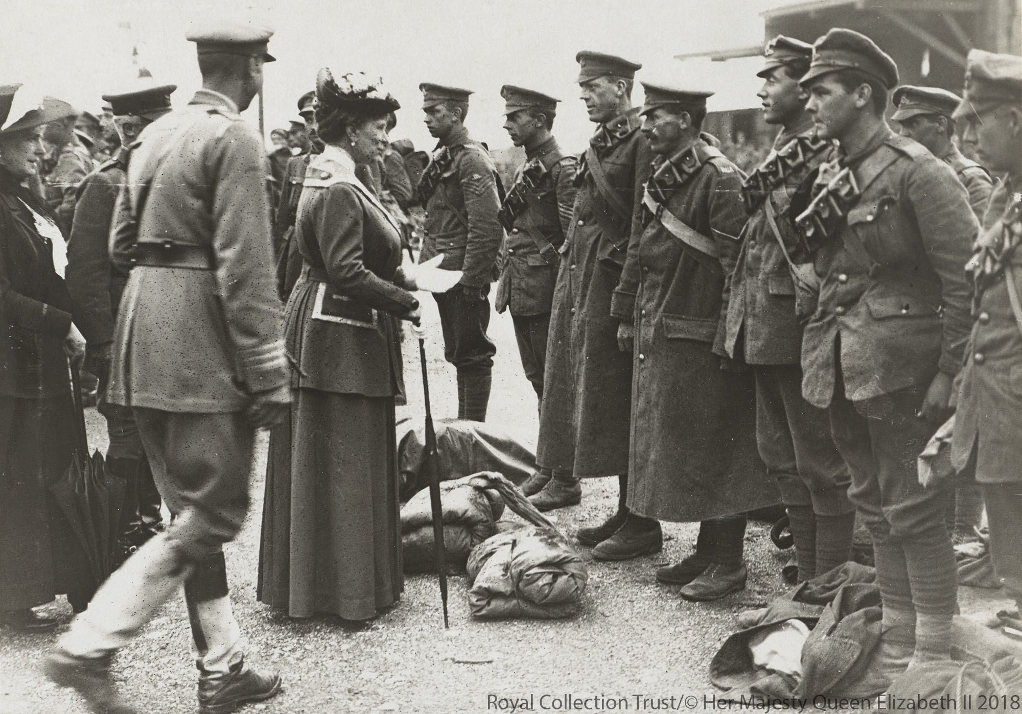 Queen Mary at the Western Front