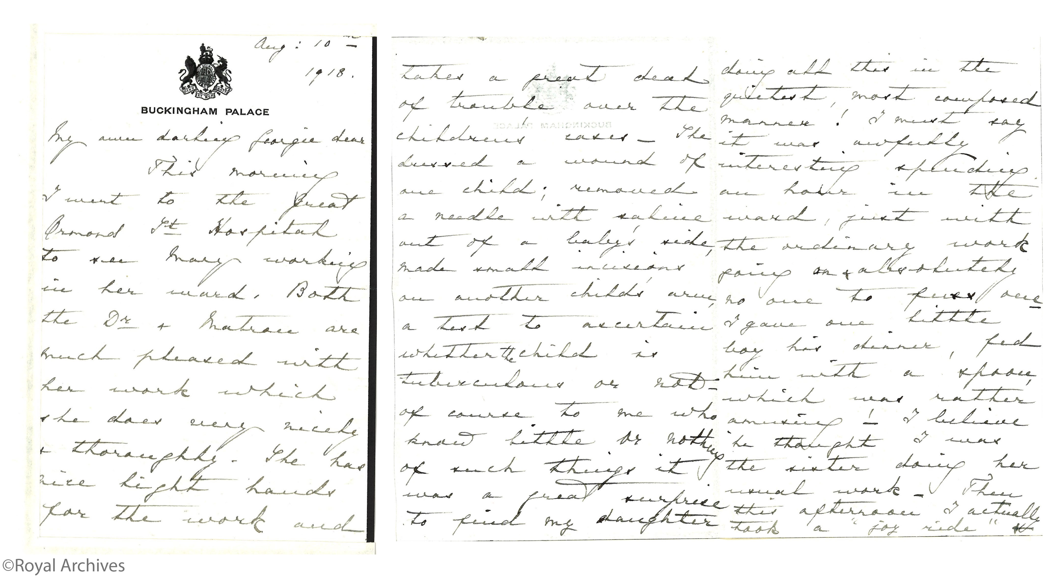 Queen Mary letter