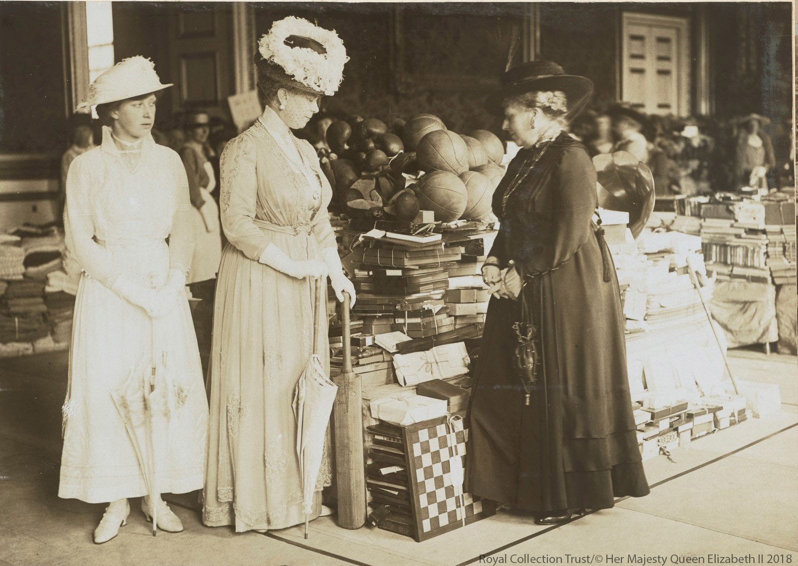 Princess Mary and Queen Mary