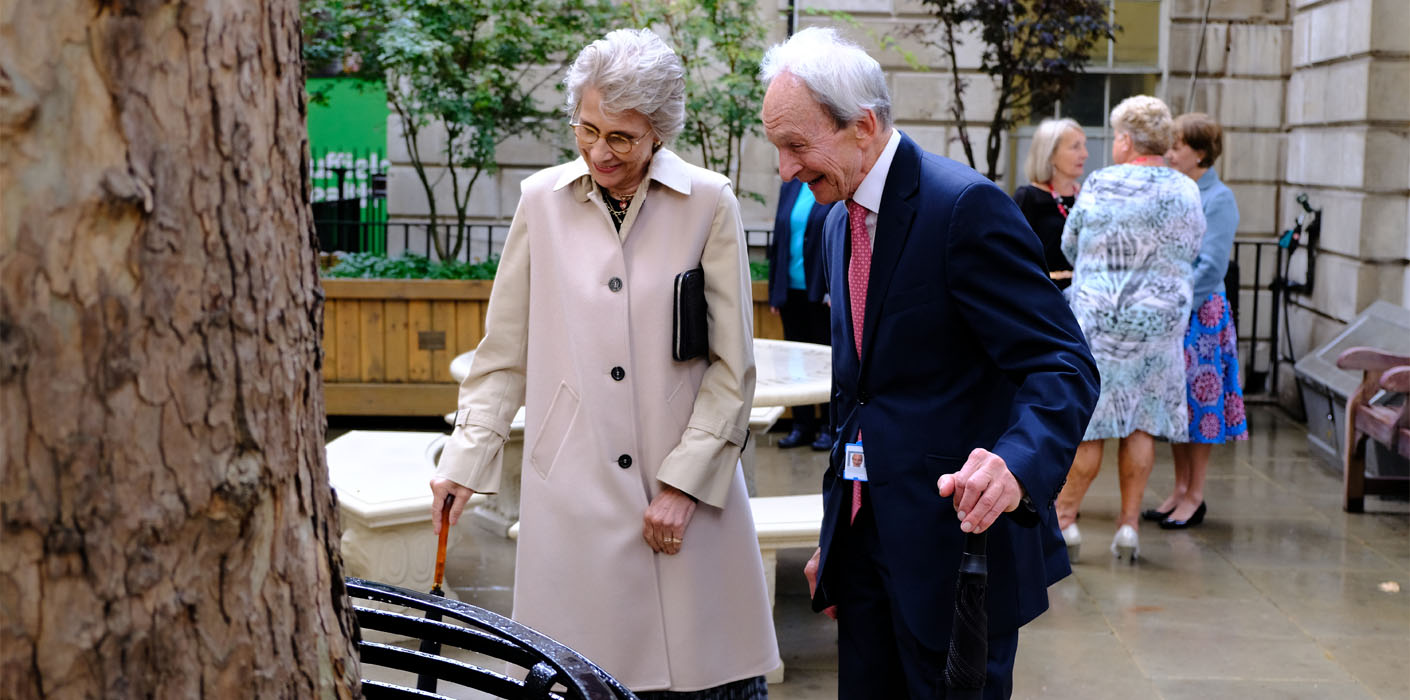 Duchess of Gloucester visits Princess Alice Garden