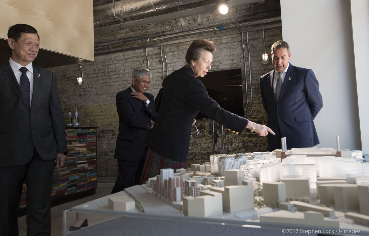Princess Royal at Battersea Power Station