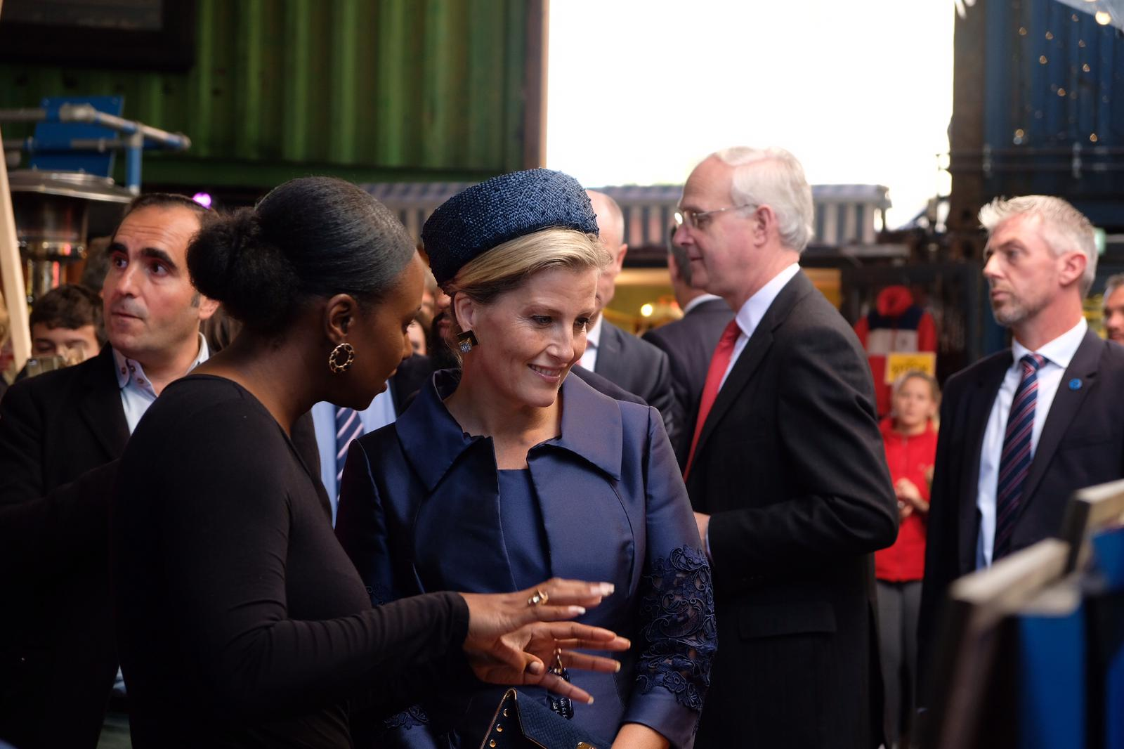The Countess visits Pop Brixton