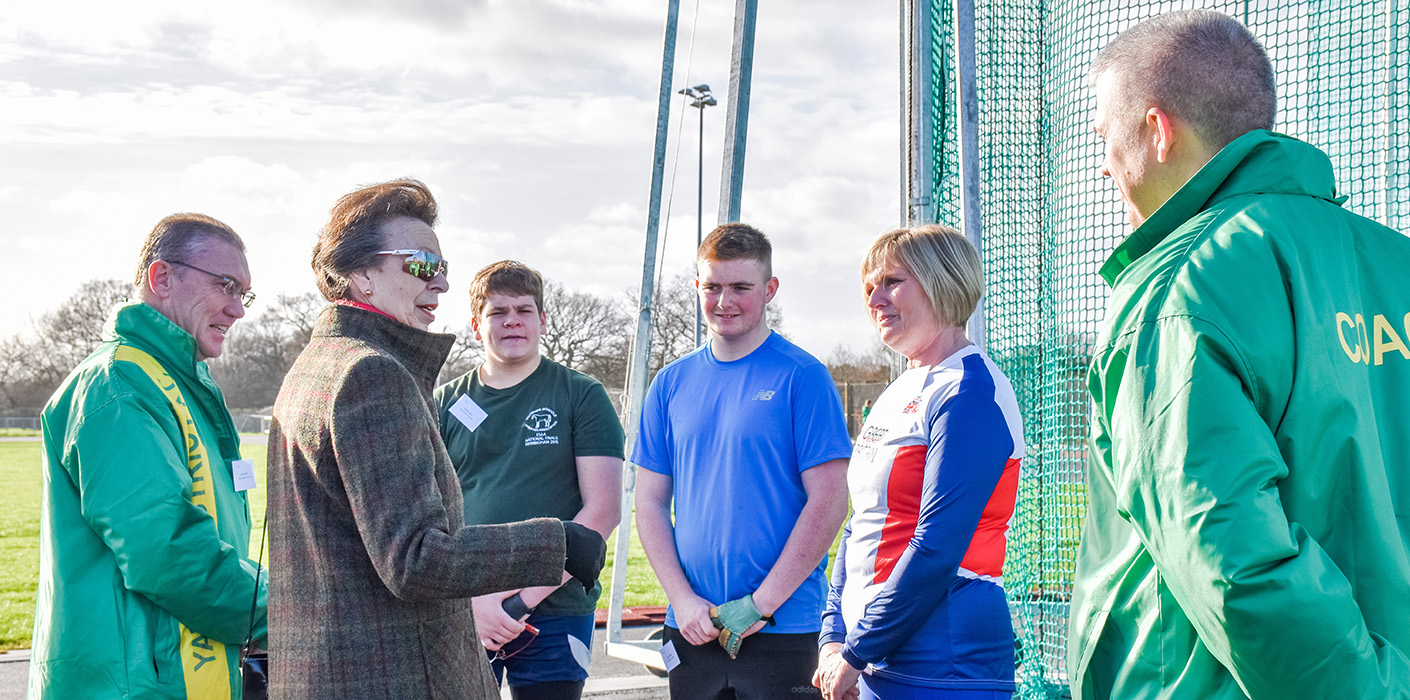 The Princess Royal's Visit to Gloucestershire