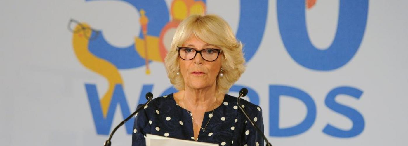 The Duchess of Cornwall attends the final of Radio 2's 500 Words competition.