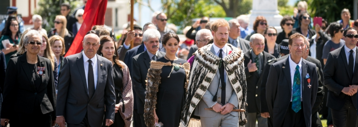 The Duke and Duchess of Sussex's visit to Australia, Fiji, the Kingdom of Tonga, and New Zealand