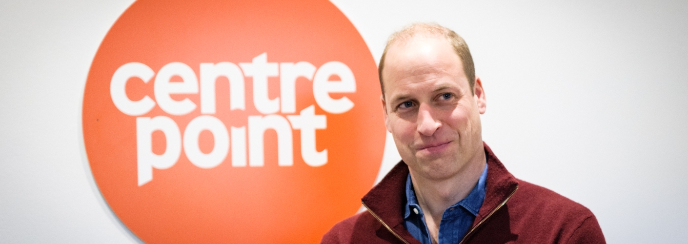 The Duke of Cambridge visits Centrepoint's new Apprenticeship House, as her marks 50 years of the homelessness charity.