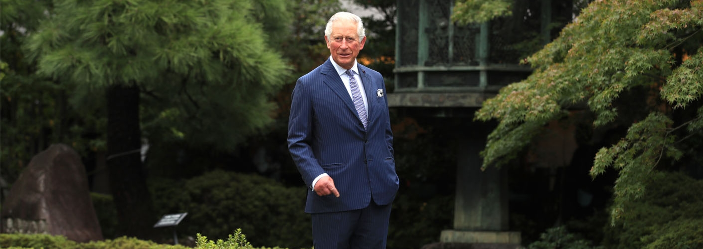 The Prince of Wales visits Japan