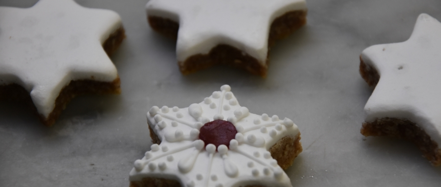 The Pastry Chefs at Buckingham Palace are excited to share their recipe for Cinnamon Stars with you this Christmas.