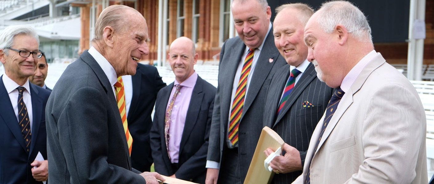 The Duke Of Edinburgh Opens A New Stand At Lord S Cricket Ground
