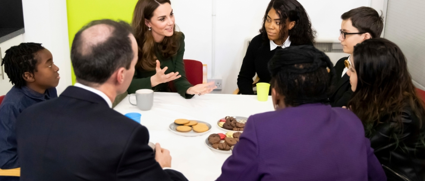 The Duchess of Cambridge visits Family Action's Lewisham