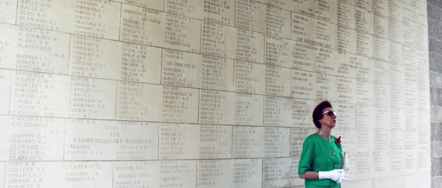 The Princess Royal in Singapore, Kranji Commonwealth War Graves Commission Cemetery