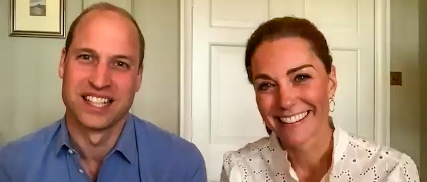 The Duke and Duchess of Cambridge thank volunteers as part of Volunteers' Week
