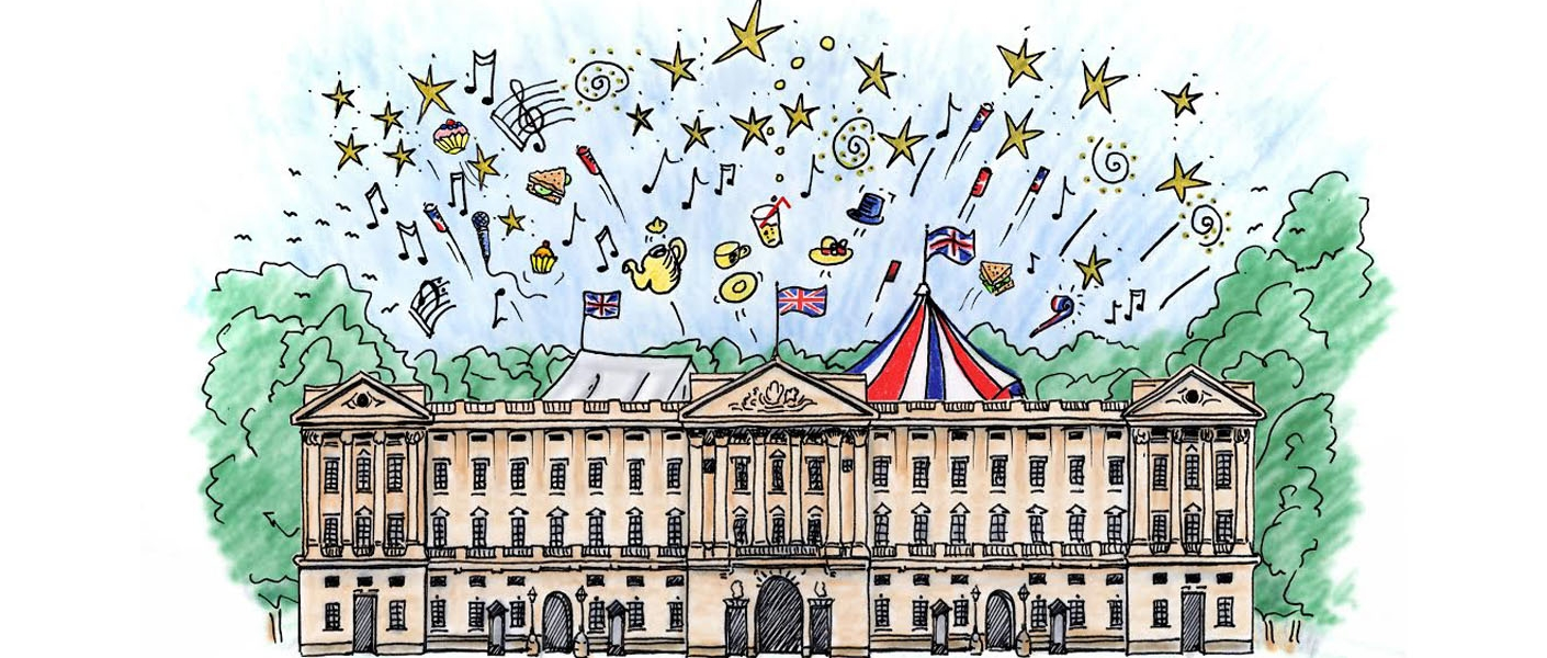 Party at Buckingham Palace