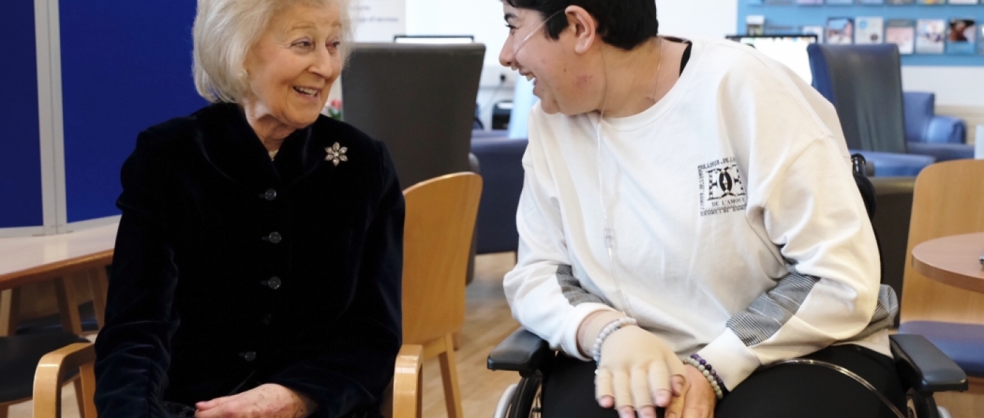 Princess Alexandra, The Queen's cousin, officially opened St Christopher's Hospice in Sydenham