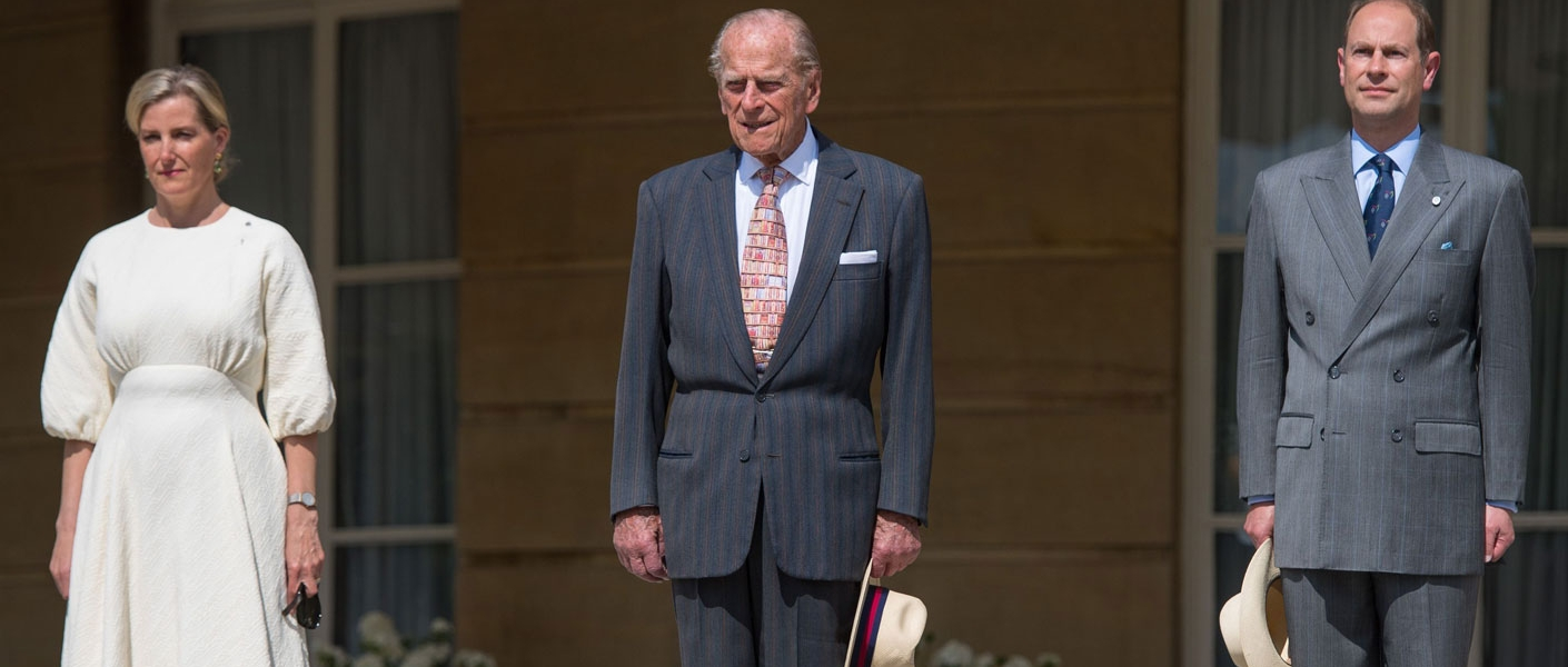 The Duke of Edinburgh along with The Earl and Countess of Wessex host TheDofE Gold Award Presentation at Buckingham Palace.