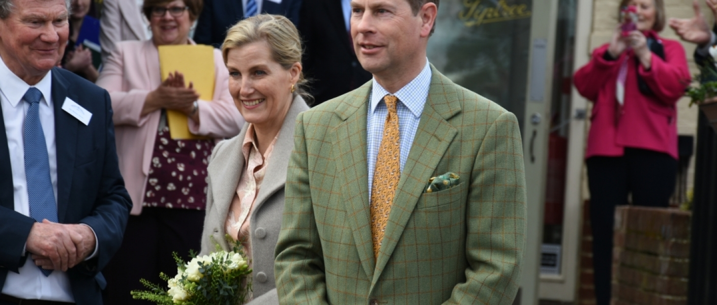 The Earl and Countess of Wessex visit Essex