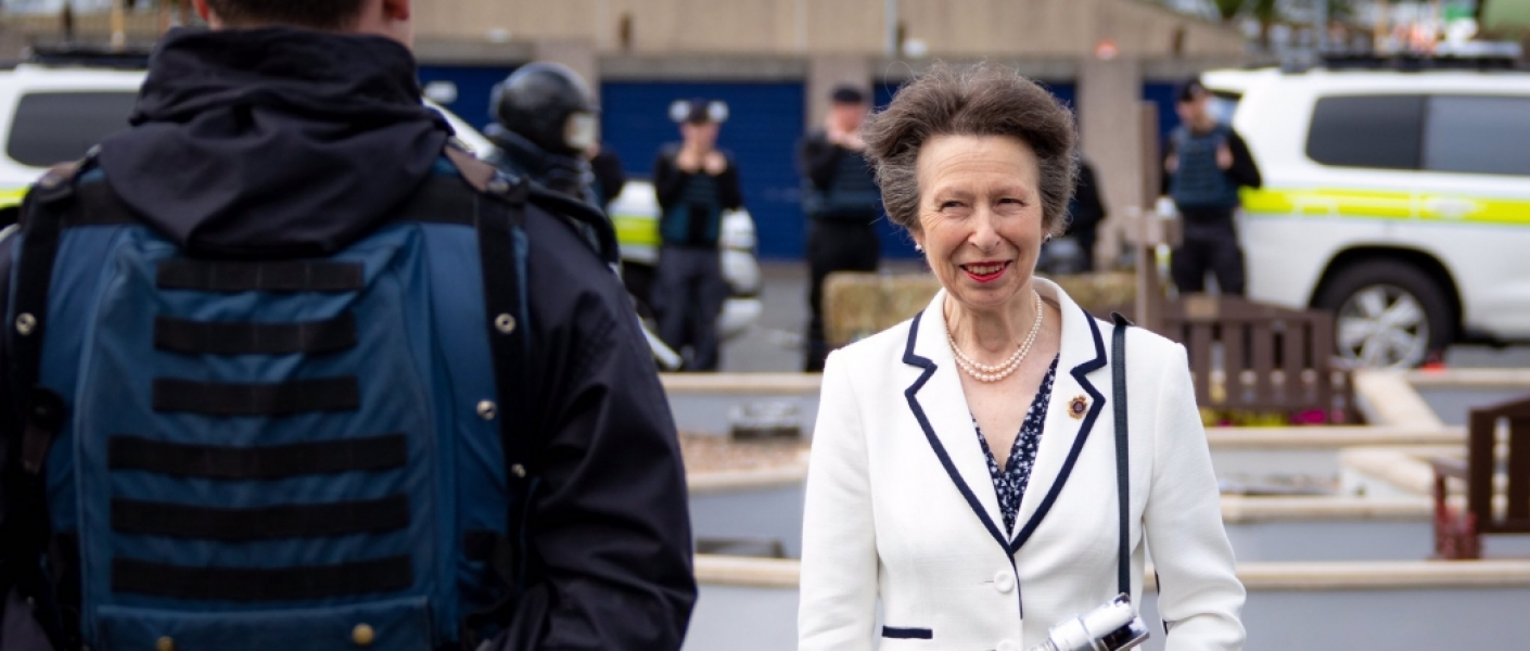 The Princess Royal visits the Royal Logistic Corps in Northern Ireland