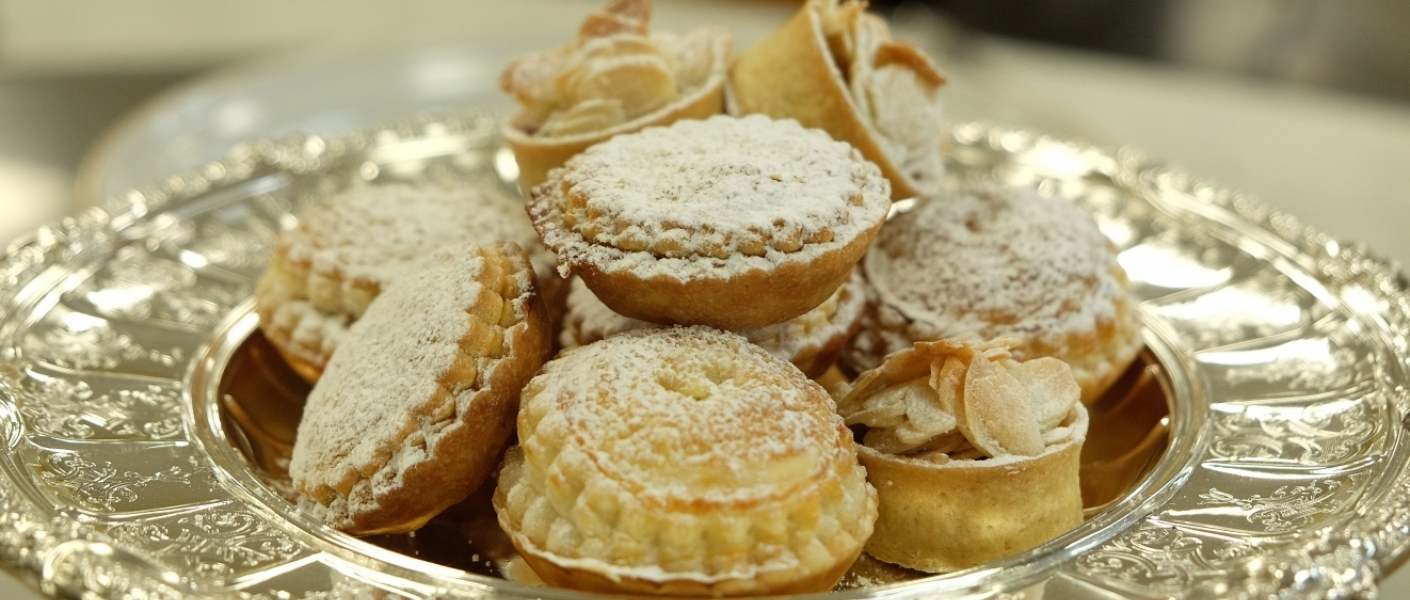 Making Mince Pies in the Royal Kitchen