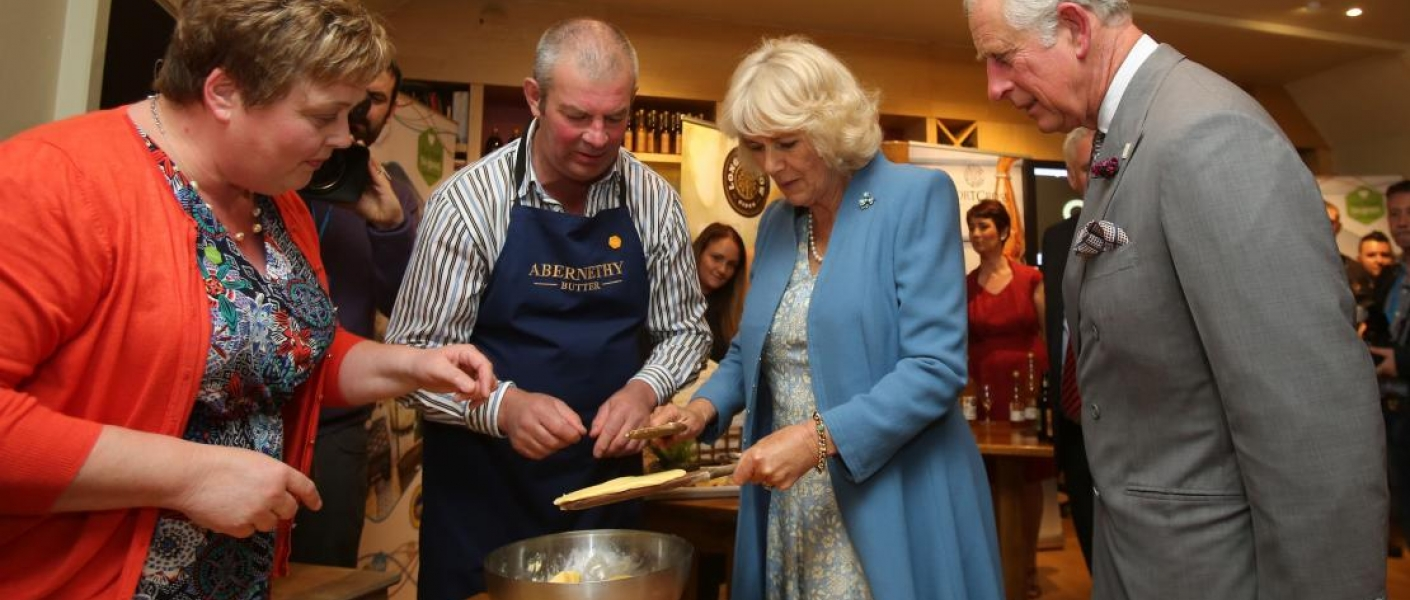 The Prince of Wales and The Duchess of Cornwall visit Northern Ireland