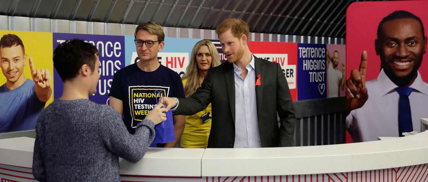 Prince Harry launches #HIVTestWeek