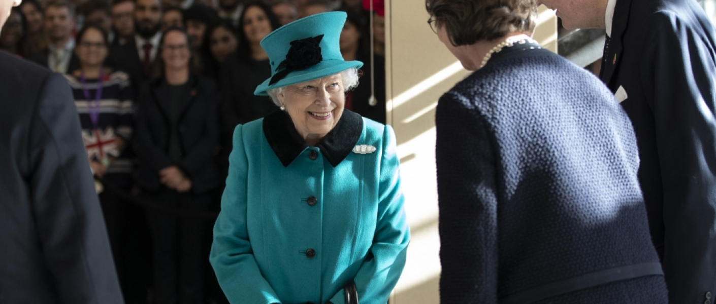 The Queen visits Schroders