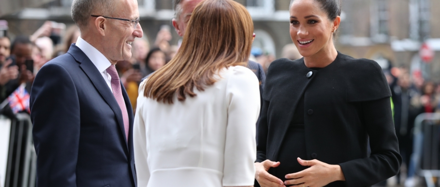 The Duchess of Sussex makes her first visit to the Association of Commonwealth Universities as Patron