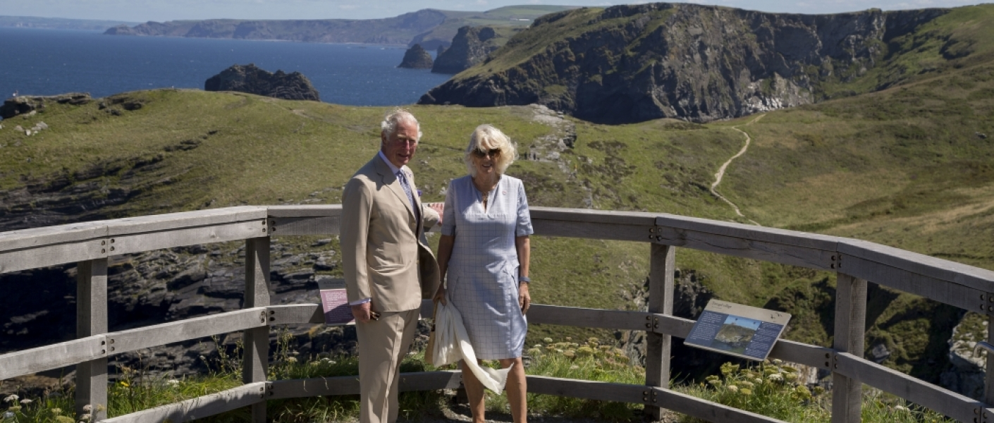 The Duke and Duchess of Cornwall visit Devon and Cornwall