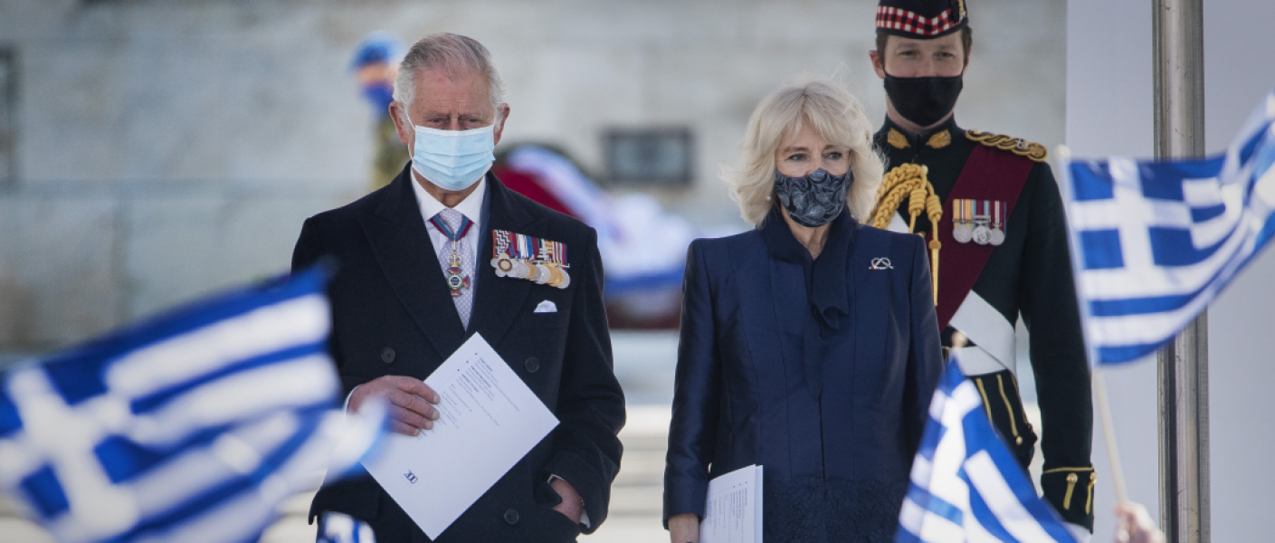 The Prince of Wales and The Duchess of Cornwall visit Greece