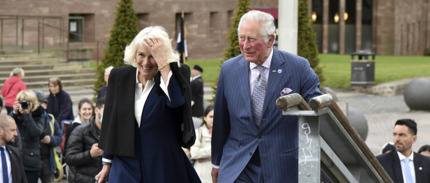 The Prince and The Duchess visit Coventry