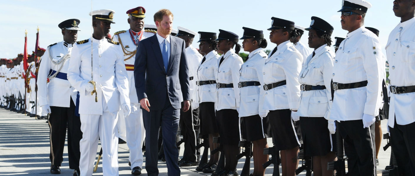 Prince Harry starts tour on behalf of The Queen