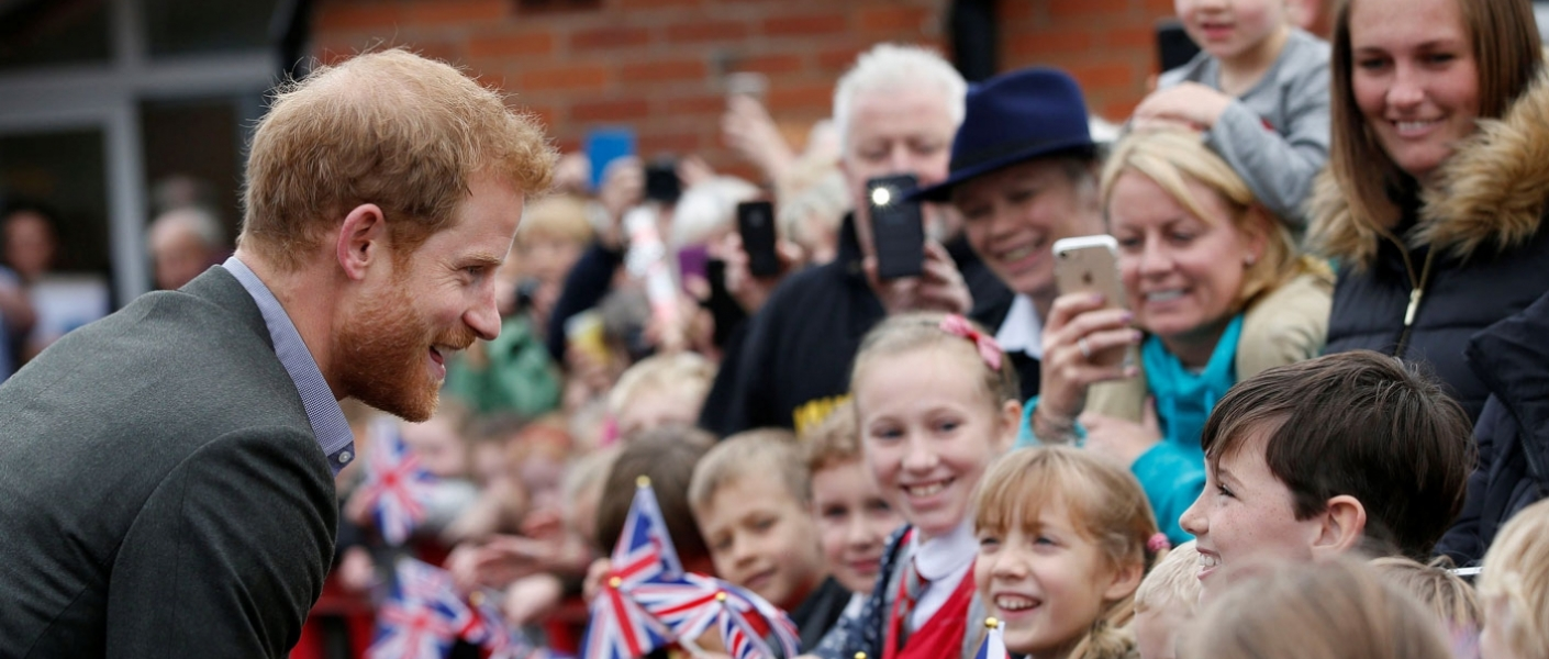 Prince Harry in Lancashire 2017