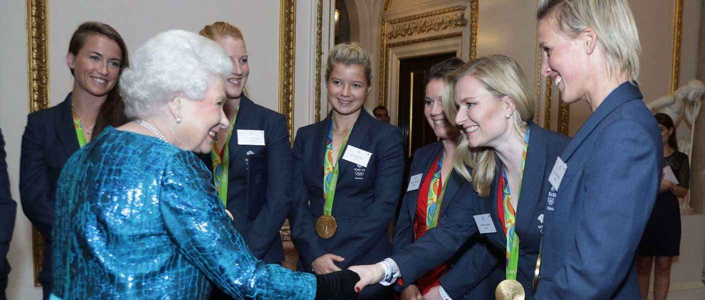 The Queen and The Duke of Edinburgh give a reception for Medallists at the 2016 Olympic and Paralympic Games