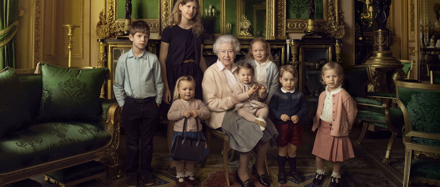 Official photographs released for The Queen's 90th birthday