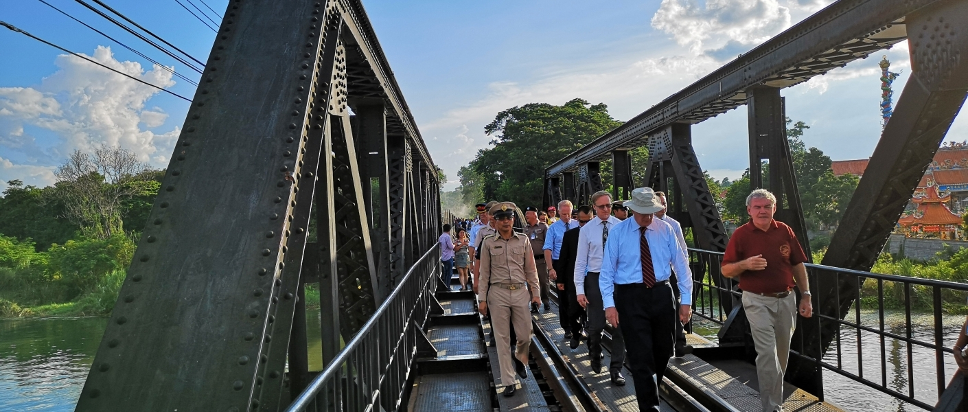 The Duke of Gloucester visits Thailand 2018