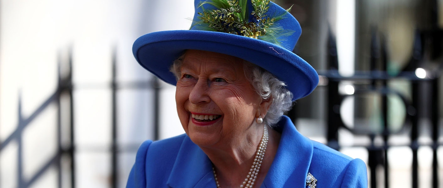 The Queen visits GCHQ, London