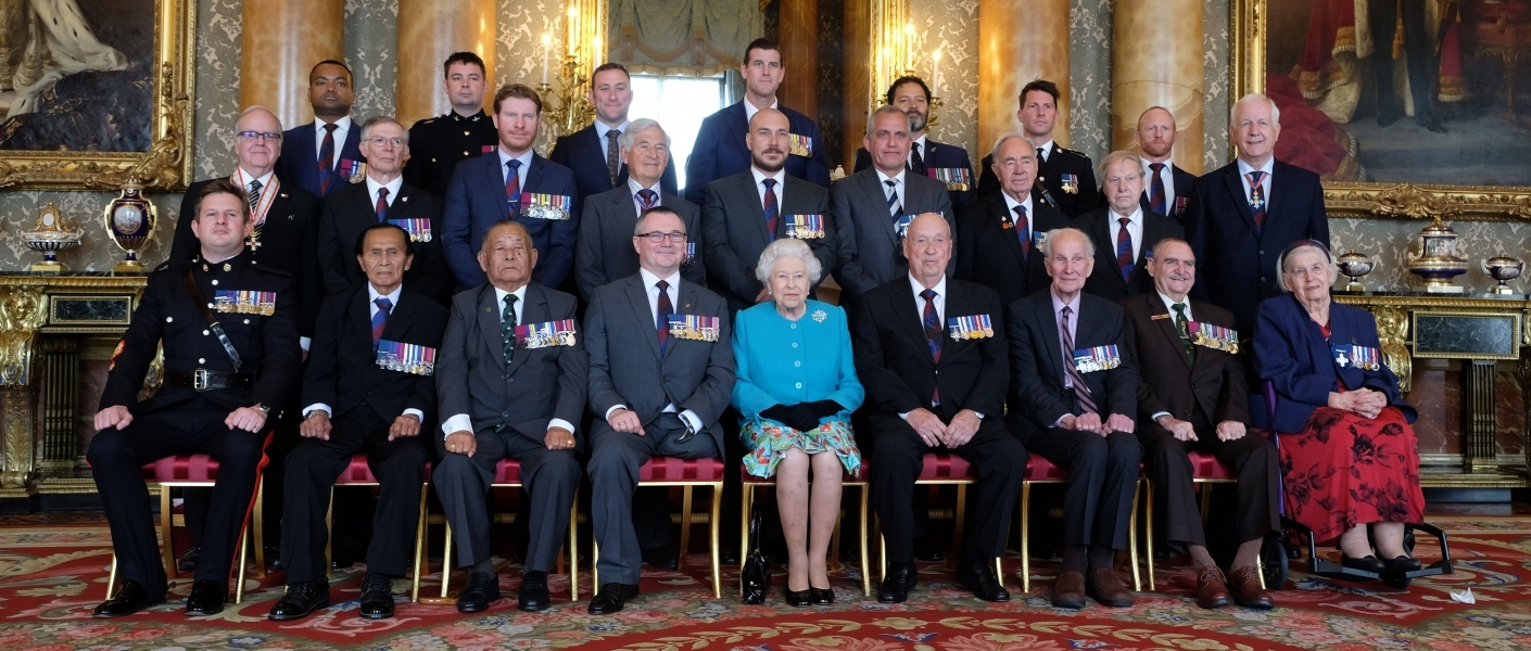 The Queen hosts a reception for The Victoria Cross and George Cross Association - Royal.uk